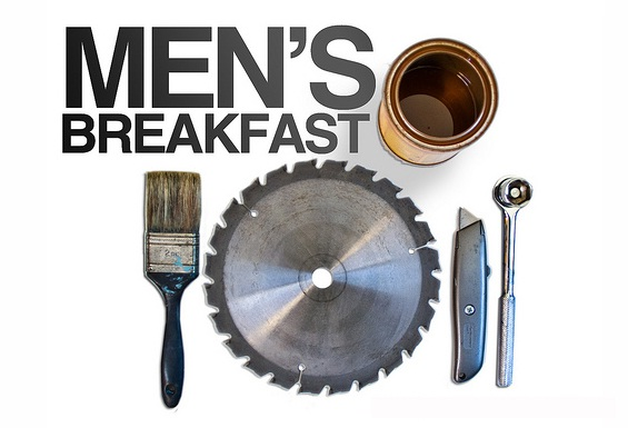 Image result for men's breakfast clip art