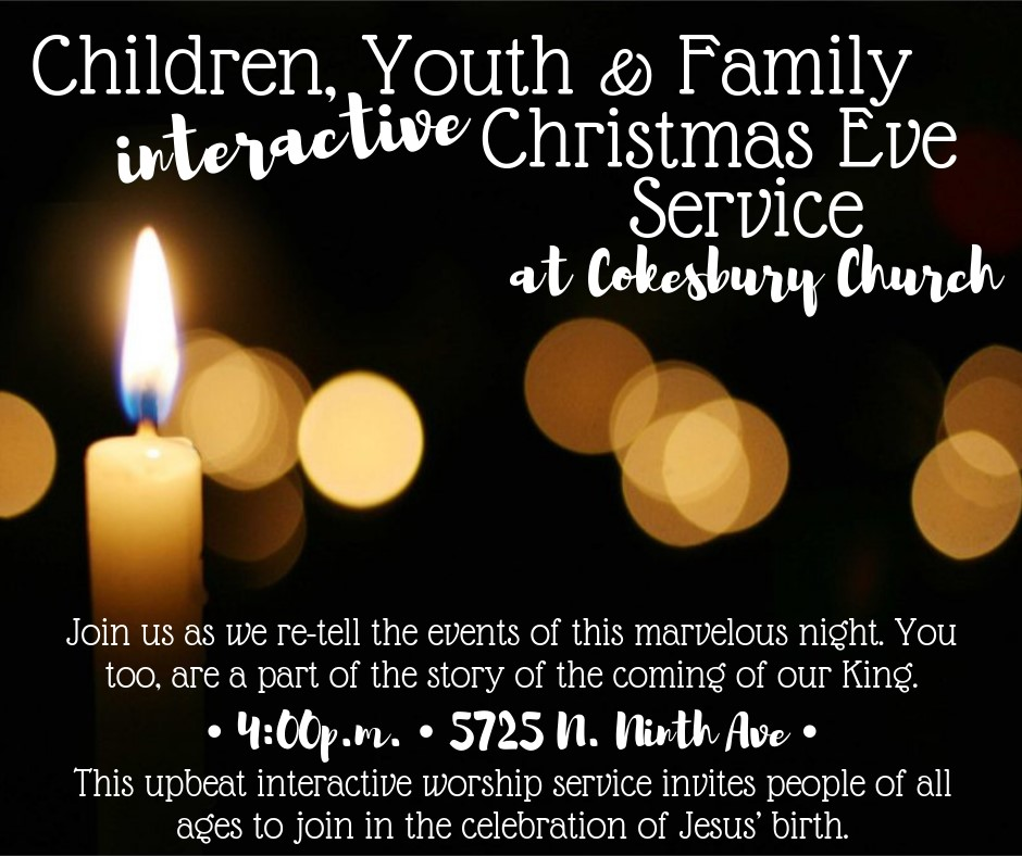 Family Christmas Eve Service Image