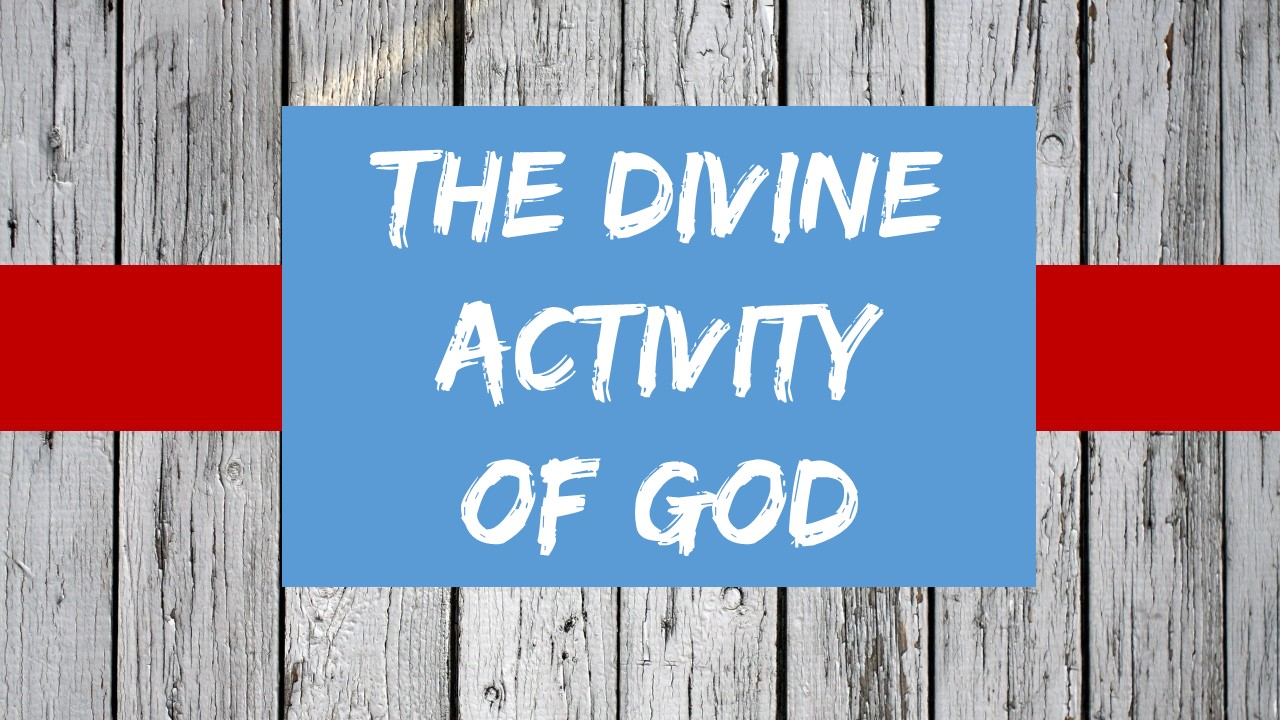 The Divine Activity of God Image